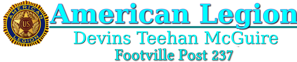 American Legion – Devins Teehan McGuire  Post 237 – Footville, WI